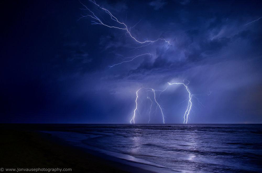 Lightning Strike Mandurah WA