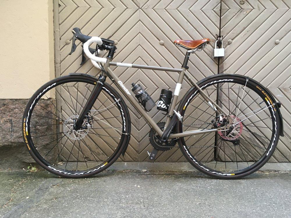 My new bike, she is called Laila.
