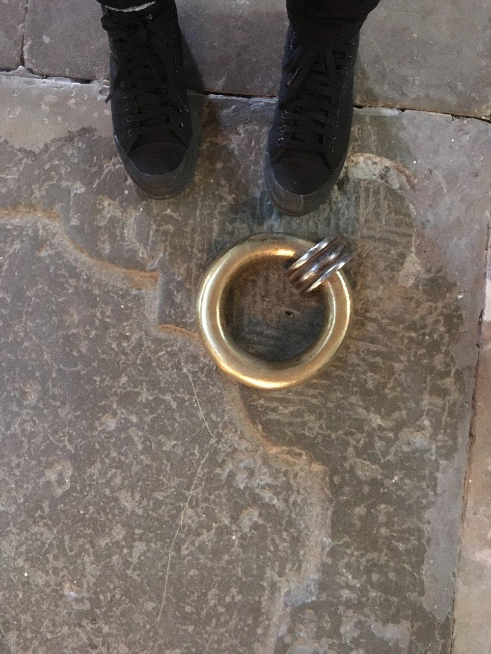 Painavat renkaat painaviin kiviin