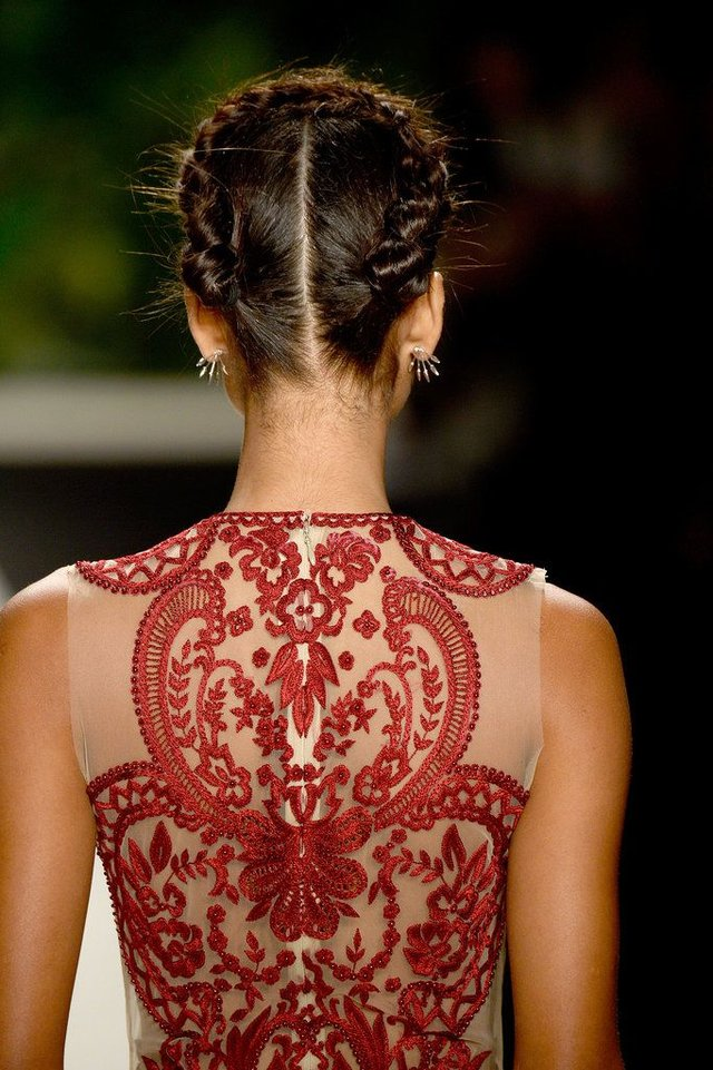 Red Embroidery