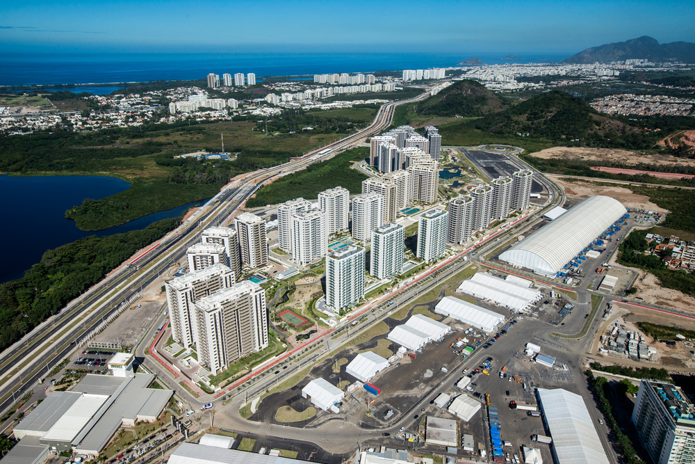 The new Olympic Village