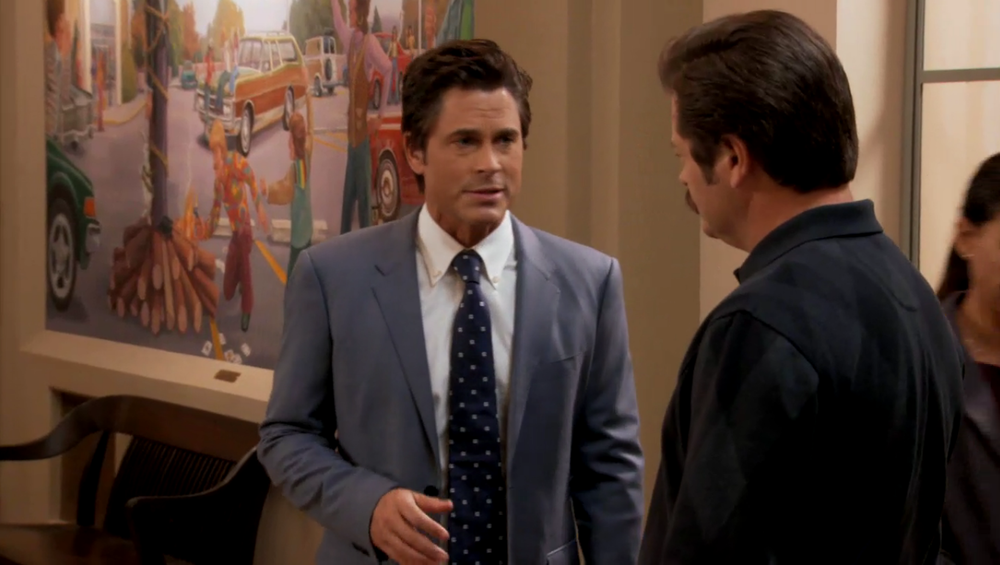 America could use a touch more of Chris Traeger.