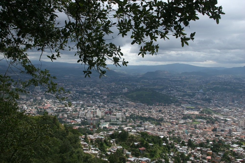 Tegucigalpa is the capital of Honduras and a 40 minute drive west of Jovenes en Camino.