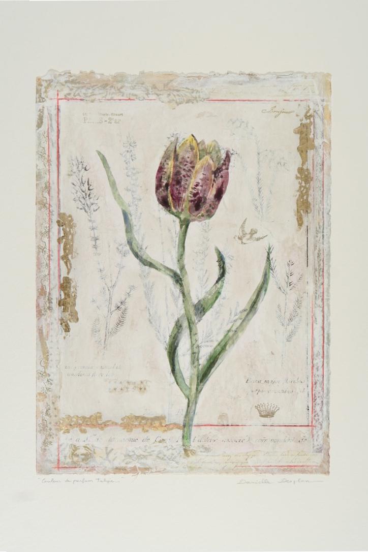"Couleur de Parfum Tulipe  19""x12"""