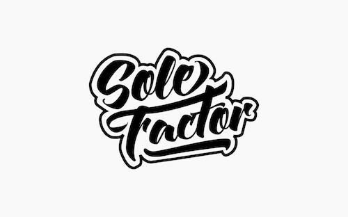 sole factor logo design graphic designer maza mazaaa