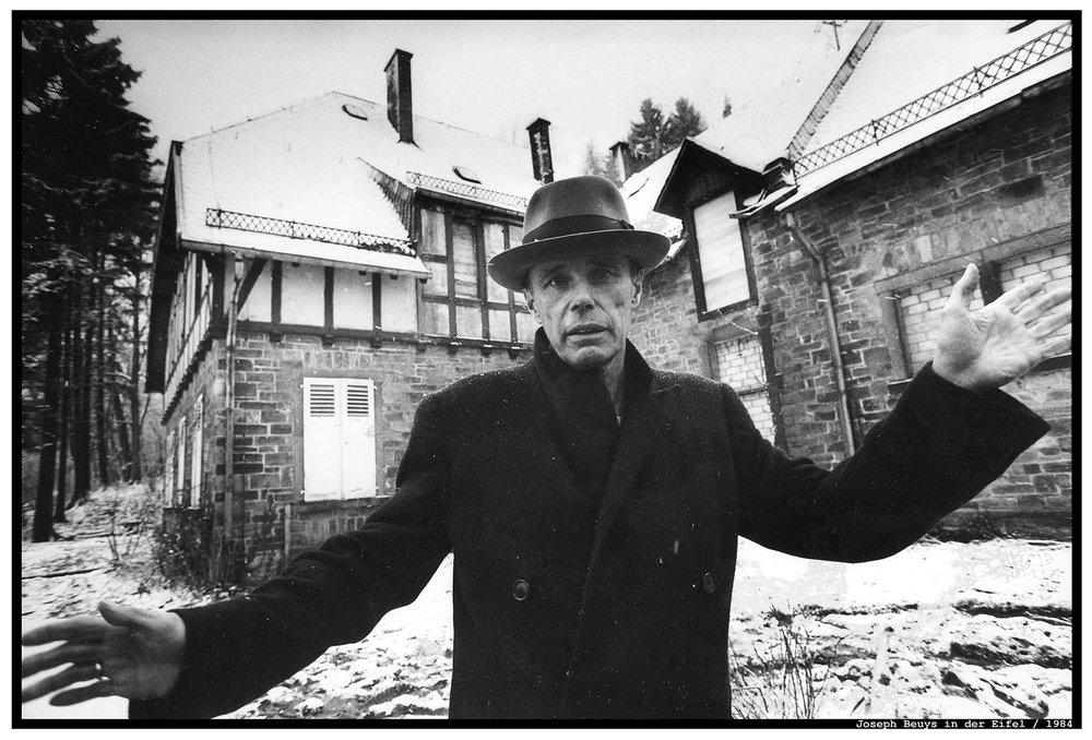 Josef Beuys by Herbert Piel