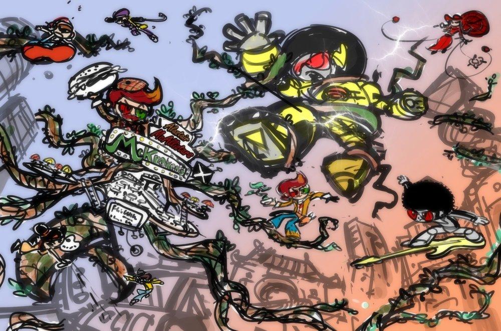 Afrobot Concept Art