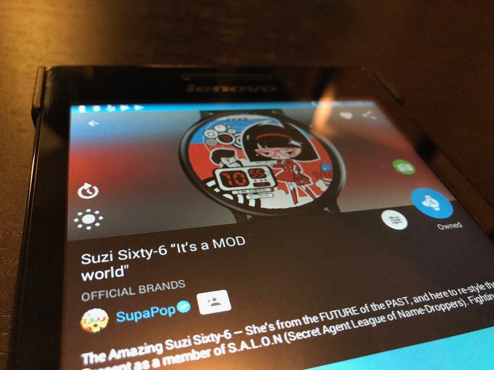 Suzi Sixty-6 Facer Smartwatch