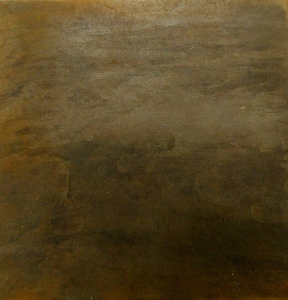 25.Tikrų rūdžių sluoksnis ant plieno.