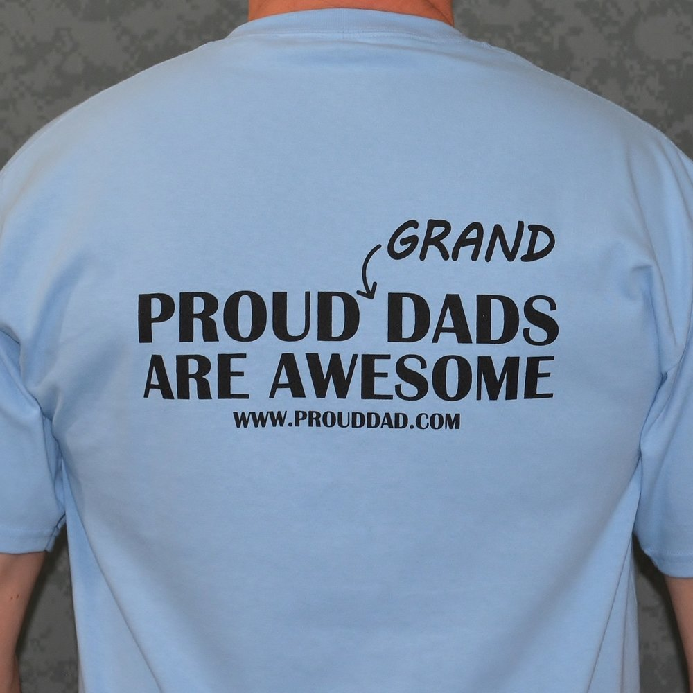 proud dad proud grand dads are awesome 100 cotton tee