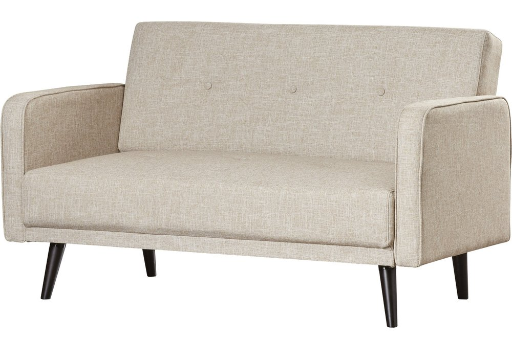 The  Langley Street Zelmo Loveseat  has classic, modern lines and will make a great statement in your office, guest room, or sunroom. It comes in a good array of colors, and is sure to blend in with a modern design easily!