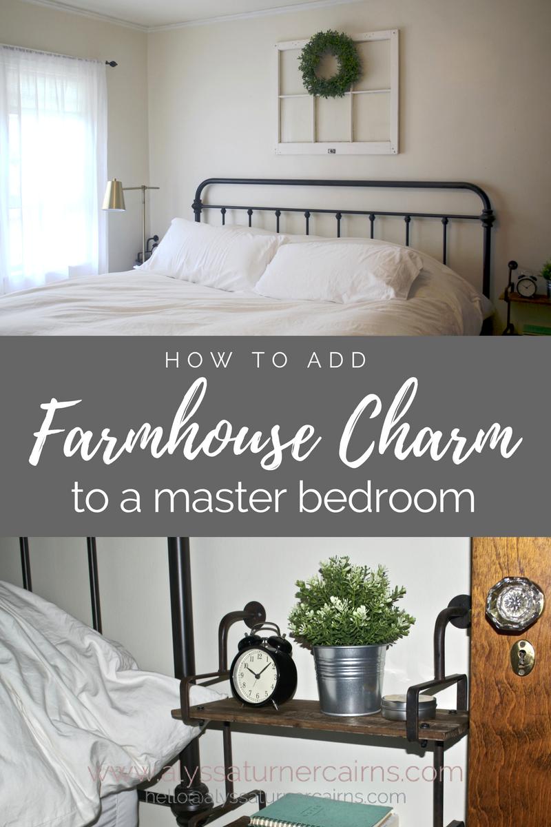 Designing A Farmhouse Master Bedroom Alyssa Turner Cairns