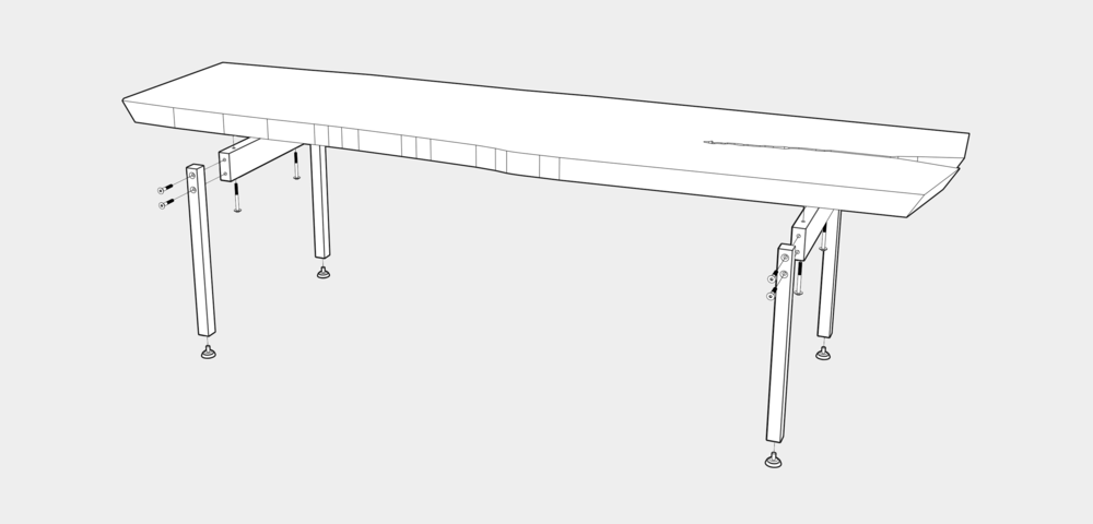 U TABLE CONSTRUCTION
