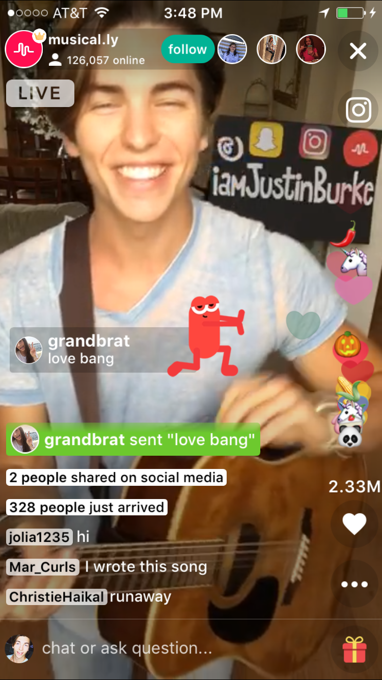 Justin Burke Music on Live.ly TV