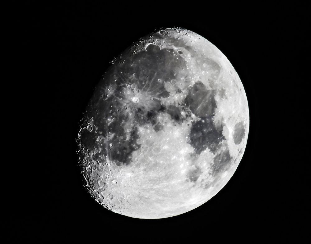 Waxing Super Moon, Nov 10, 2016