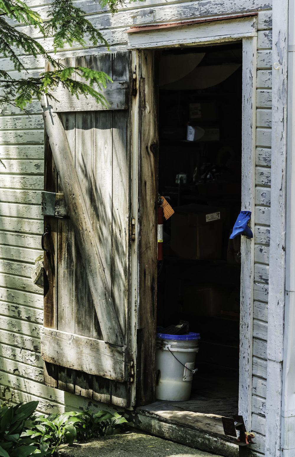 Door to Barn Workshop, W. Ann Arbor