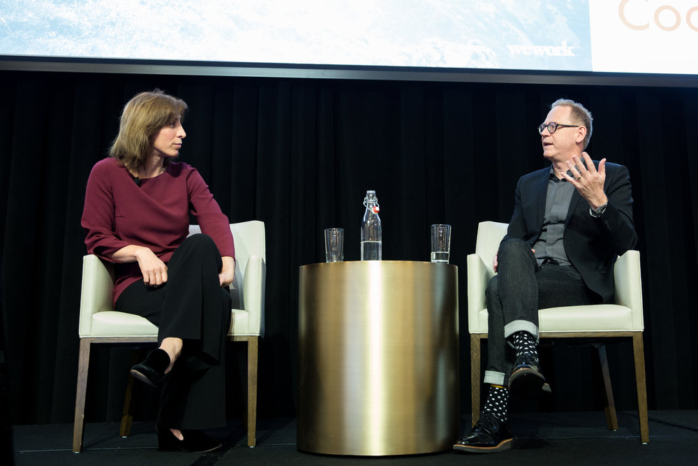 Jennifer Berrent, COO & Former General Counsel, WeWork and John Reid-Dodick, Chief People Officer, WeWork