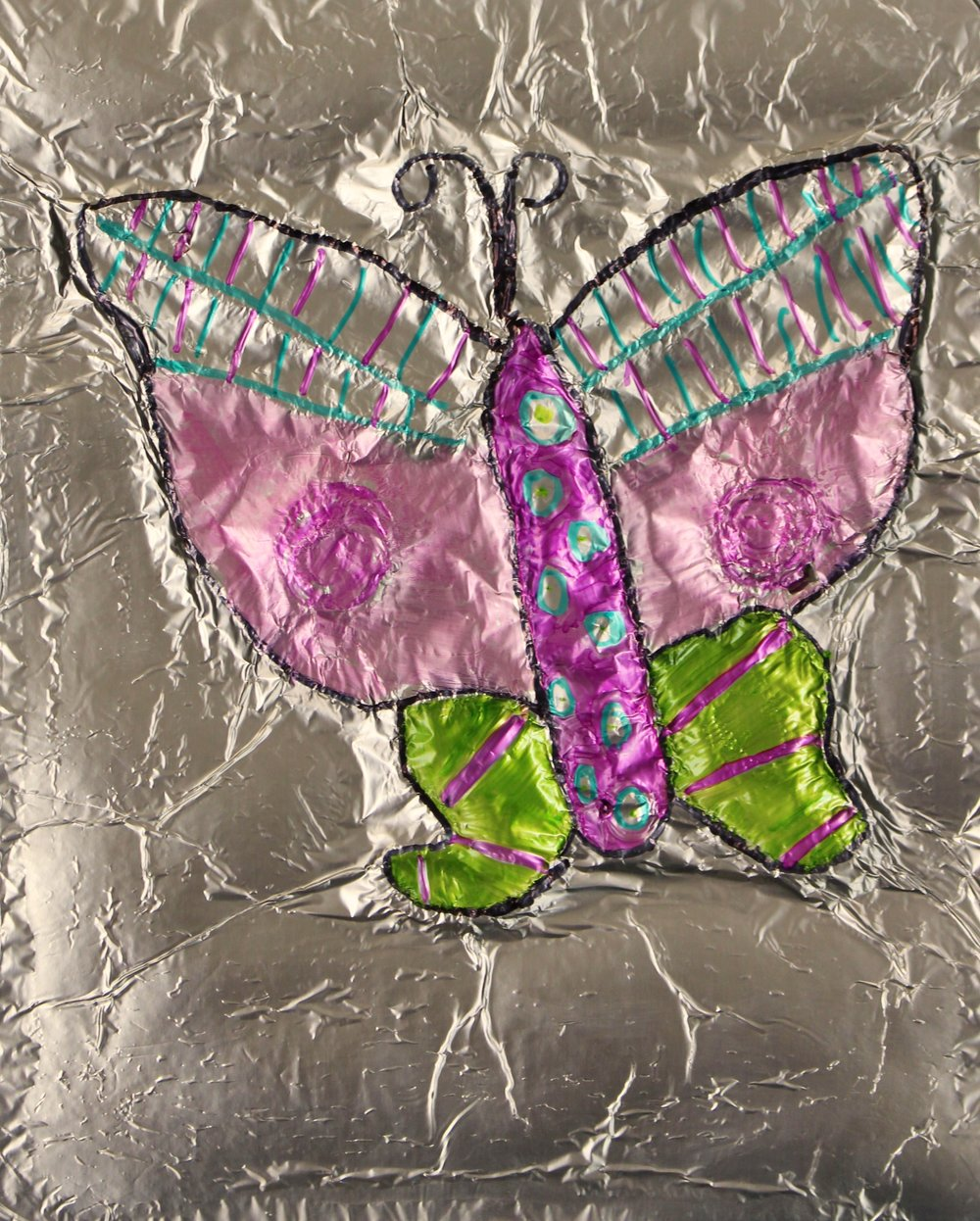3rd Grade: Haley McElroy (Foil Relief Bug)