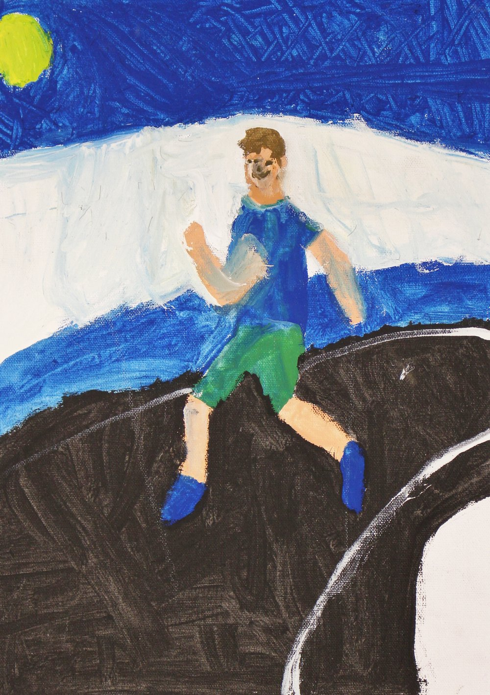 5th Grade: Owen Rathfon (Olympic Athlete in Motion)