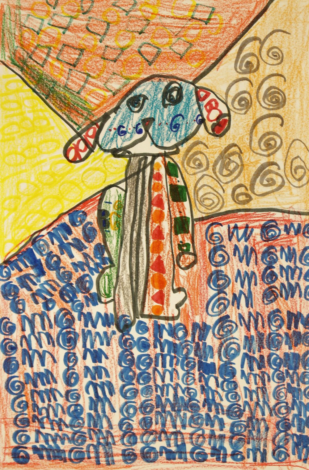 1st Grade: Ryan Coleman (Romero Britto Puppy)