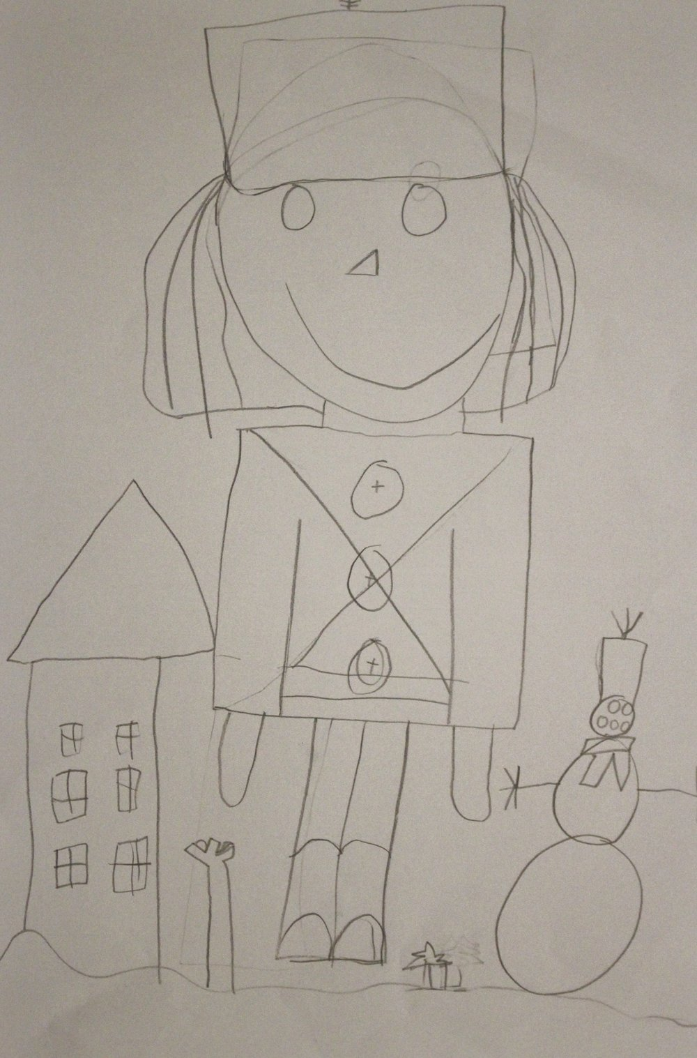 First Grade: Sarah Eilers (Toy Soldier:Work in Progress)