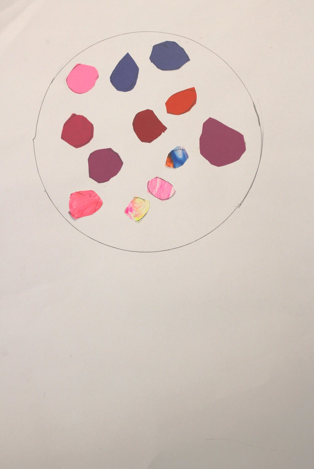 Kindergarten: Rylee Williams (Gumball Machine-Wayne Thiebaud: Work In Progress)