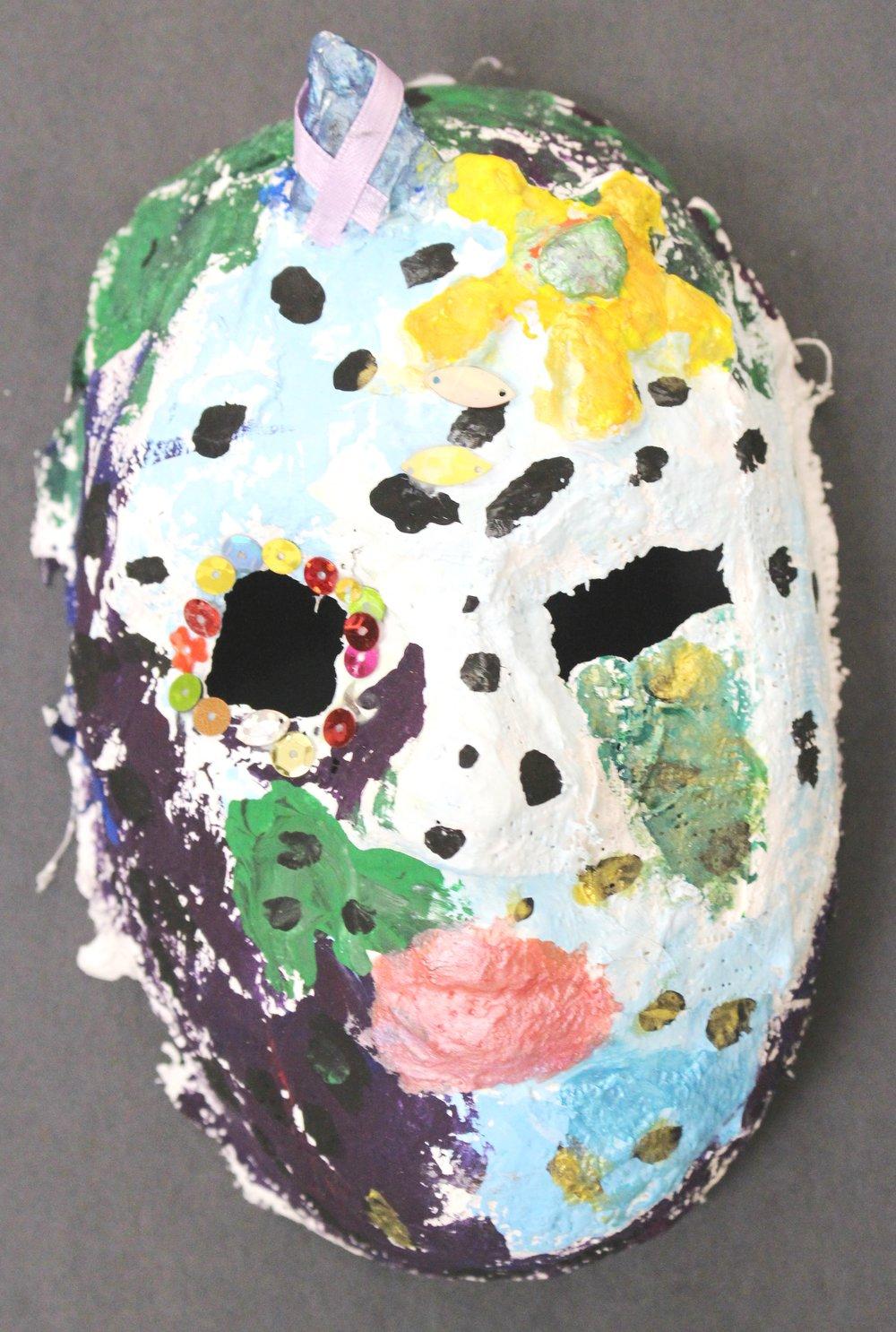 Third Grade: Alayna Mertens (Carnival of Venice: Masks)