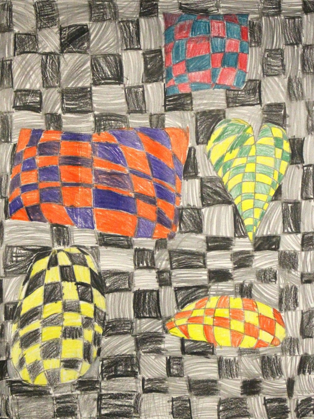 Second Grade: Rhys Barton (Op Art)