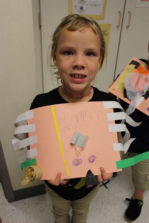 1st Grade: Adrienne Schladenhauffen: Beautiful Oops! Art