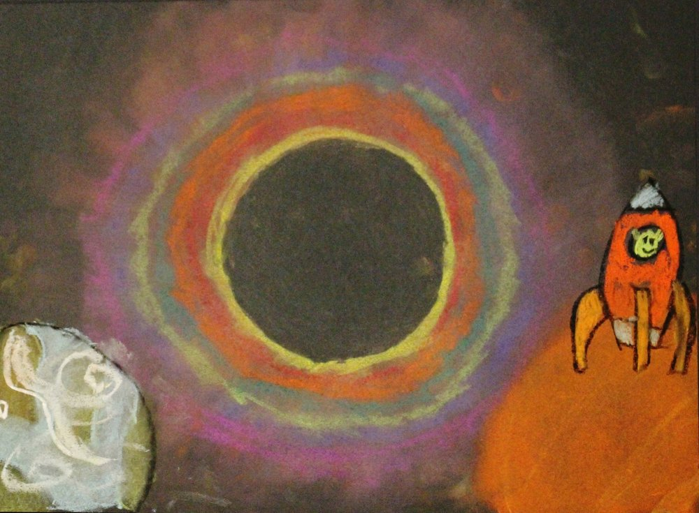 4th Grade:  Andrea Lopez: Solar Eclipse