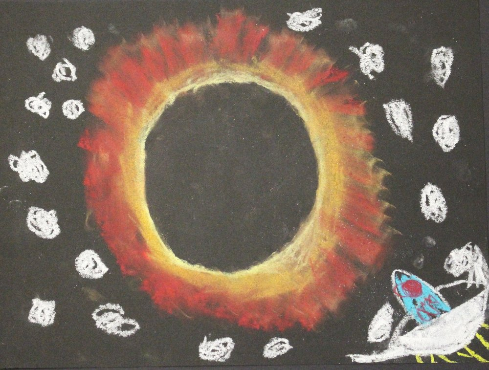 5th Grade:  Miguel Mejias: Solar Eclipse