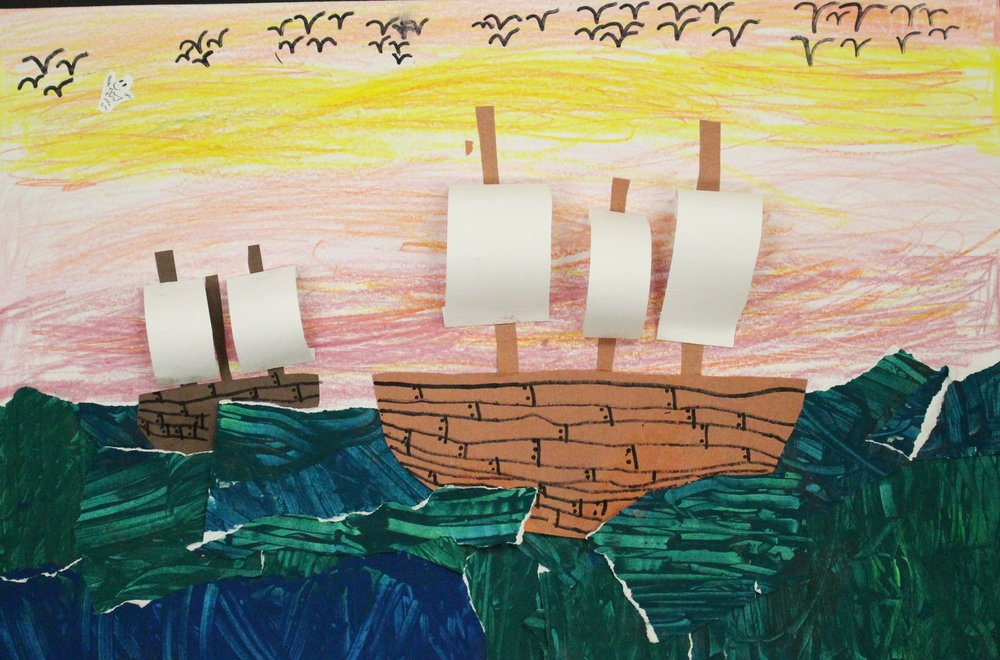 2nd Grade: Melany Haro- Pirate Ships