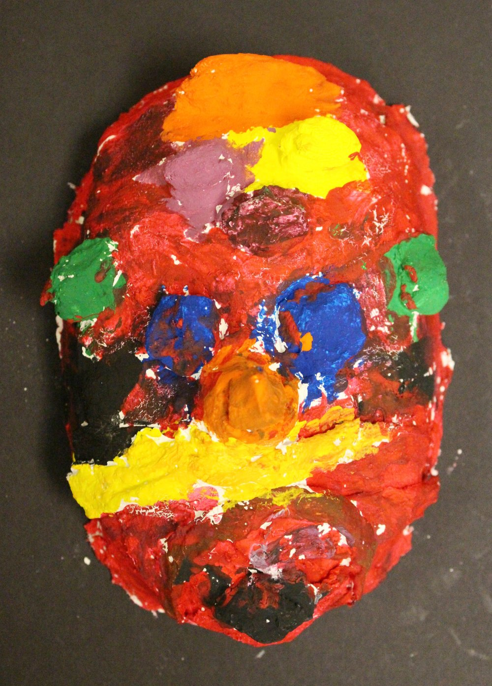 3rd Grade: Venetian Mask(Work in Progress)