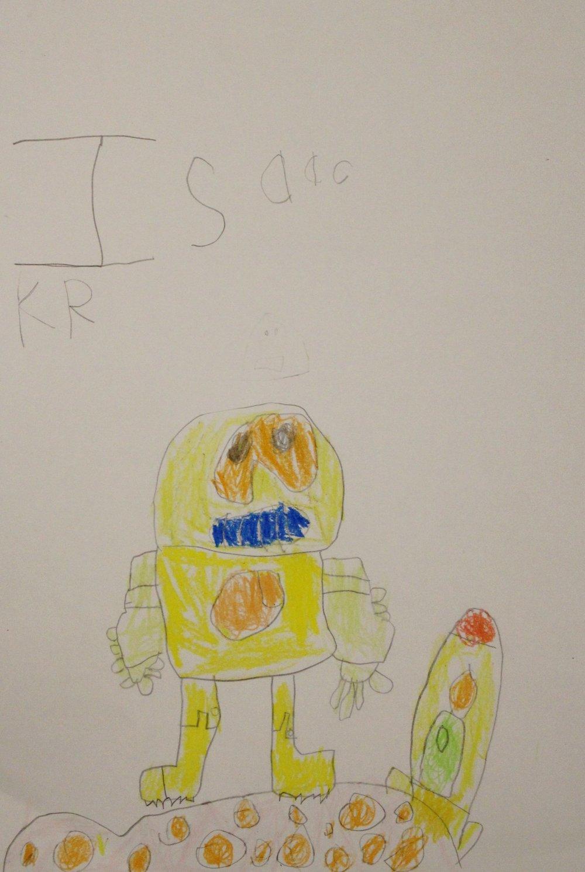 Kindergarten: Isaac Orellana (Robot)