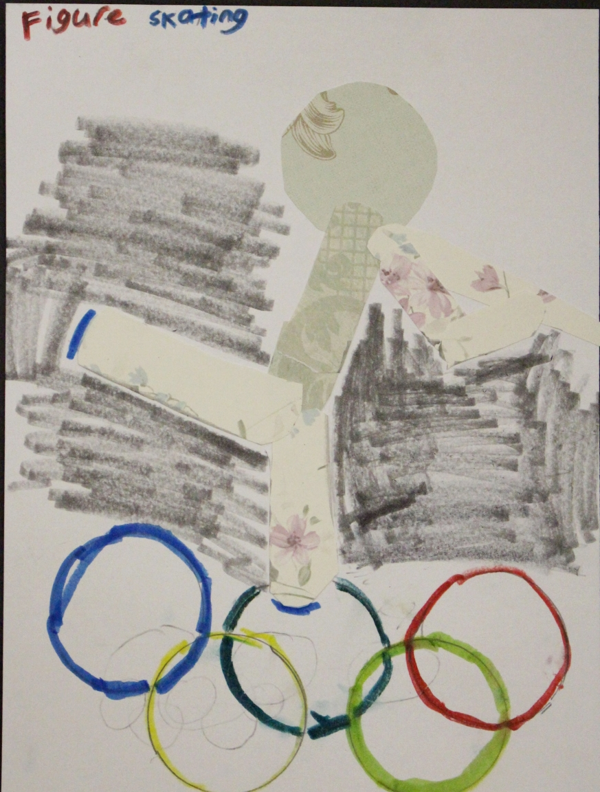 3rd Grade: Sophie DiRuzza (Winter Olympic Collage)