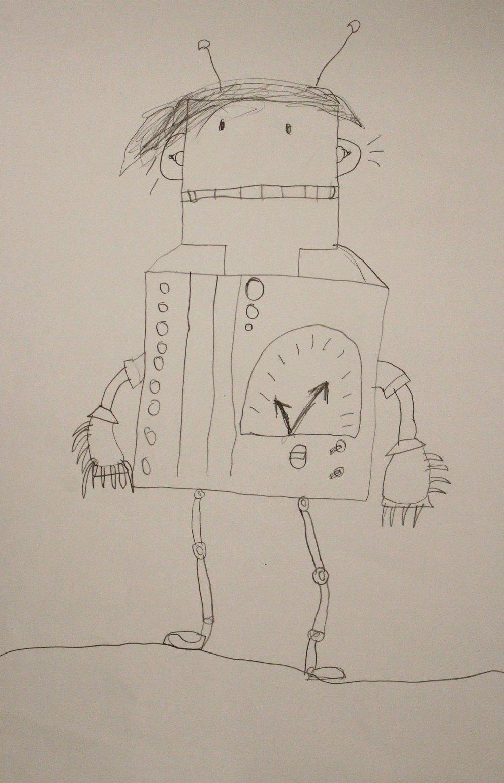 5th Grade: Jayden Voyles (Robot)