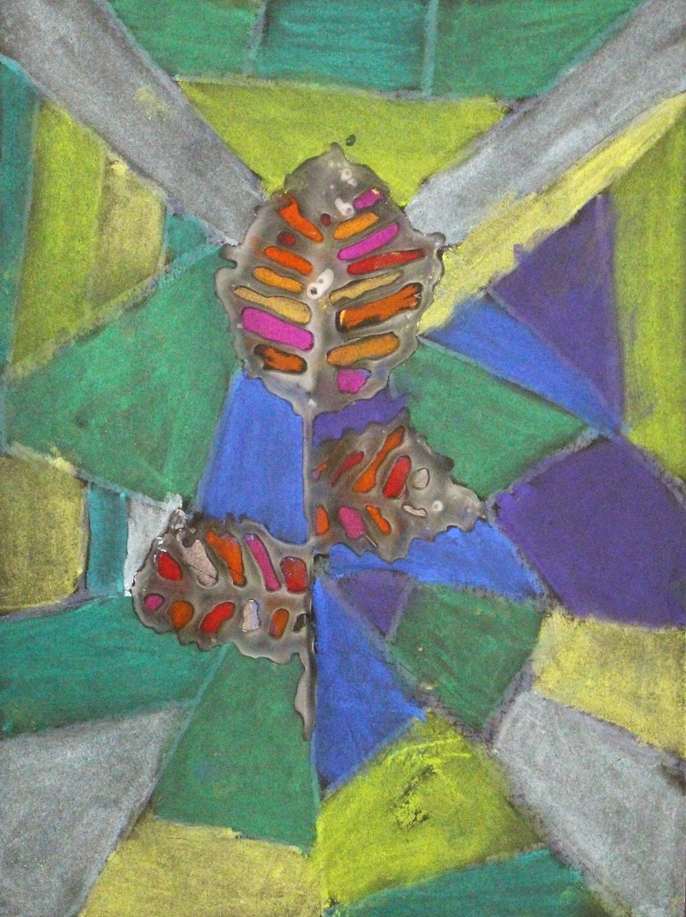 3rd Grade: Alexandria M. - Artwork: Fall Leaves