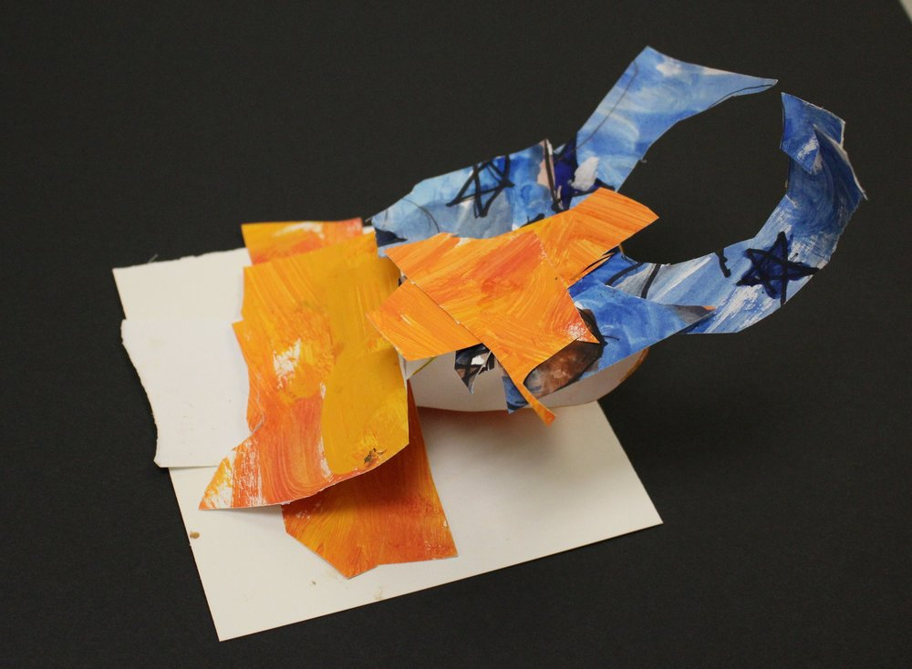 Kindergarten:AJ D. - Alexander Calder Inspired Sculptures