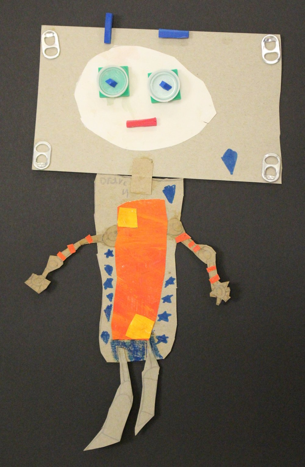 2nd Grade: Draven M. - Recycled Robots