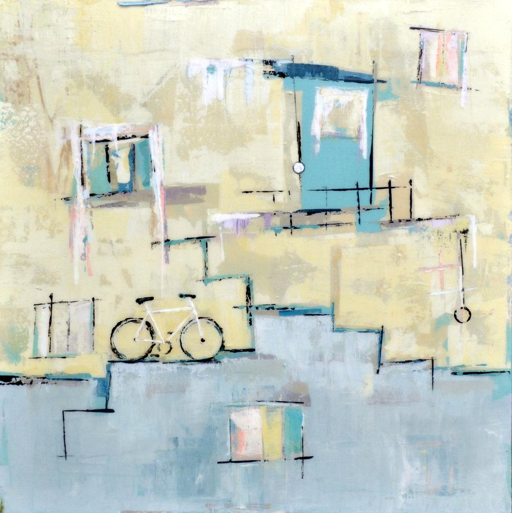 Deborah Bakos - Juliet's Balcony - 24in x 24in.jpg