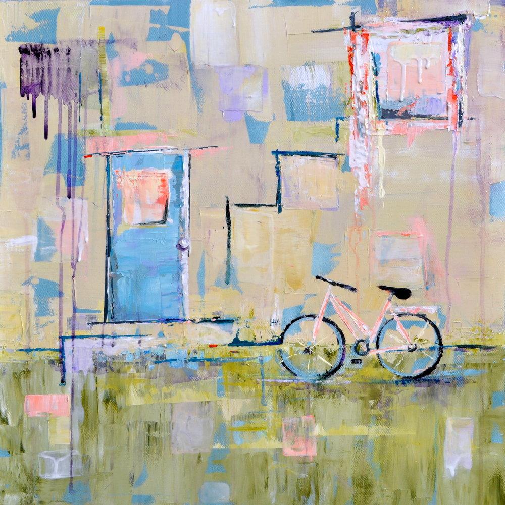 Deborah Bakos - Juliet's Staircase - 24in x 24in.jpg