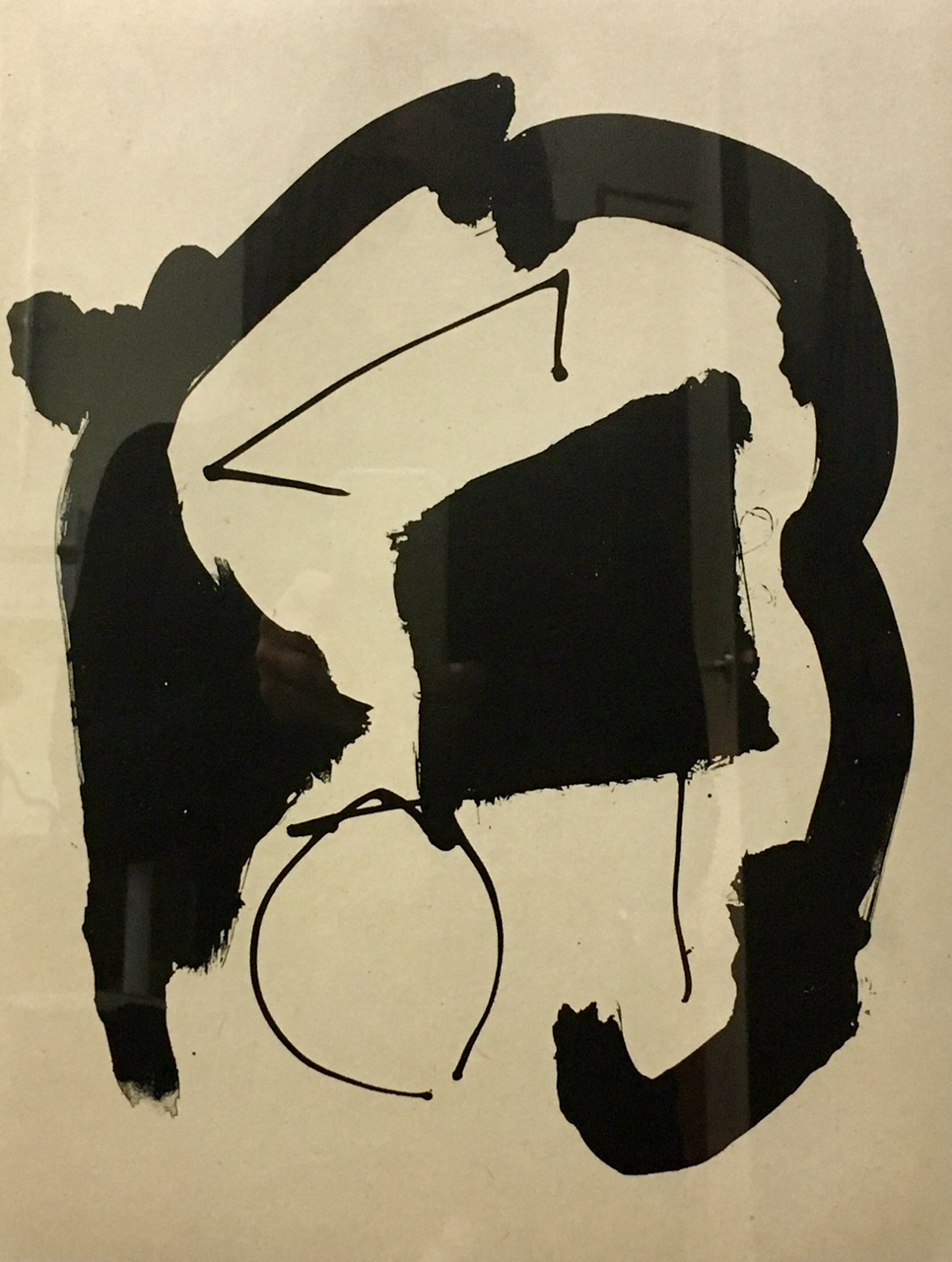 "Robert Motherwell lithograph ""Untitled II"" is the masterpiece from Chali Rosso Gallery I chose as inspiration"