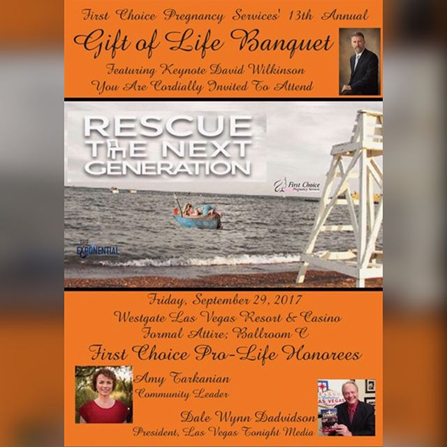 Next month is our 13th Annual Gift of Life Banquet!! We hope you will make plans to join us for this amazing evening!  Thank you for partnering with us in the fight for the preborn! It's because of your prayers and faithful, generous support that we are able to stand strong on the front lines of this battle.  Please join us for an elegant and memorable evening, filled with celebration and hope!  Register online today at: www.FirstChoiceFriendsLV.org 🤰🏽👶🏽👶🏻👶🏾👶🏼👶🏿💛 #prolife #chooselife #supportlife #lovethemboth #standinthegap