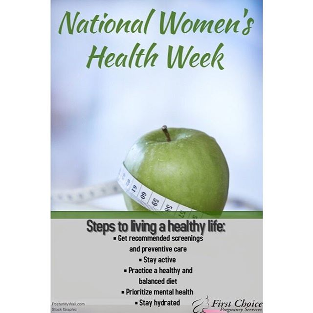 The week after Mother's Day is National Women's Health Week!  Women, let's make sure we maintain our bodies and sustain a healthy lifestyle! 🍏🍎🍊🍌🍇 #nationalwomenshealthweek #nationalwomenshealth