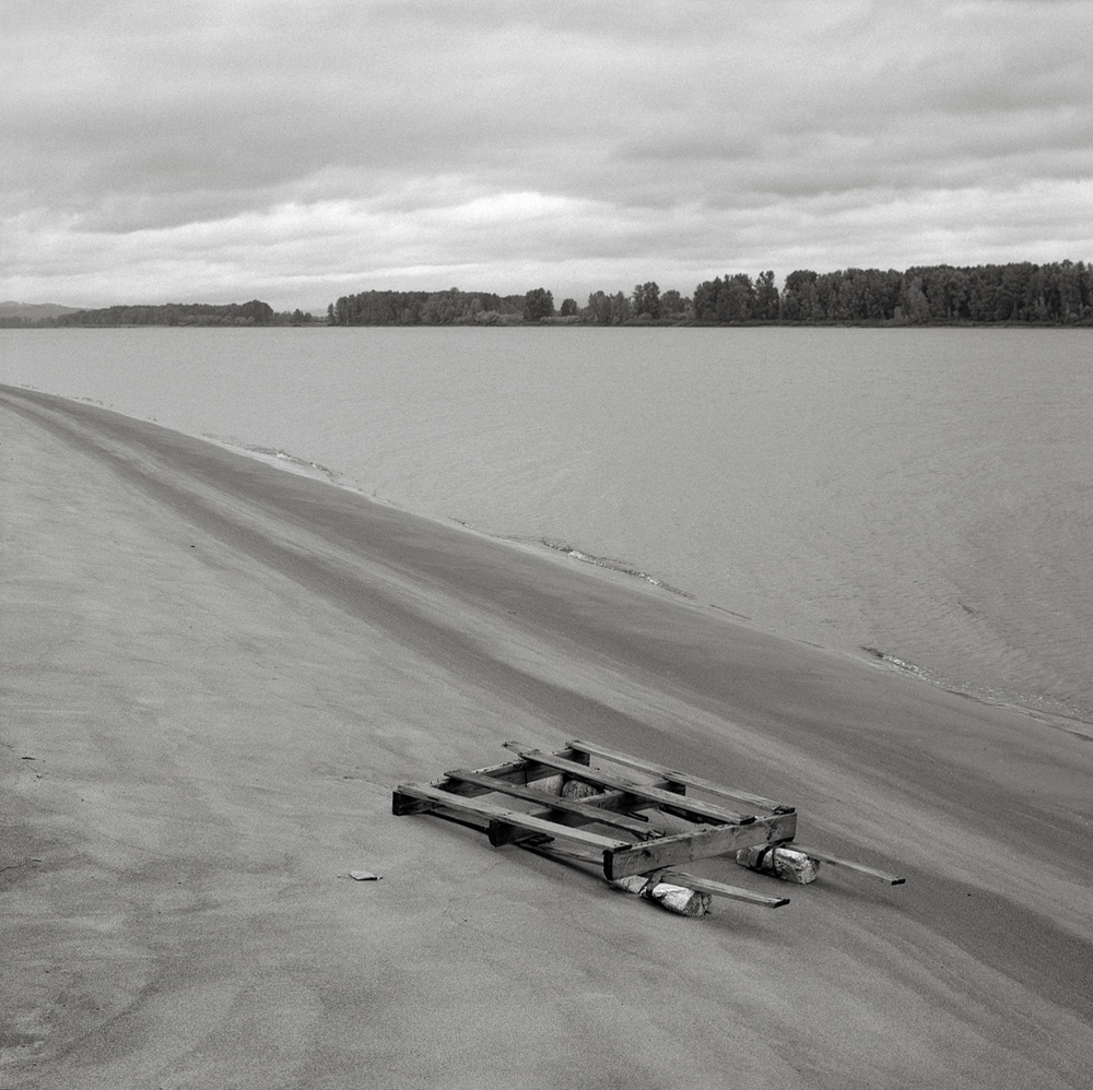 Raft, Sauvie Island, Oregon