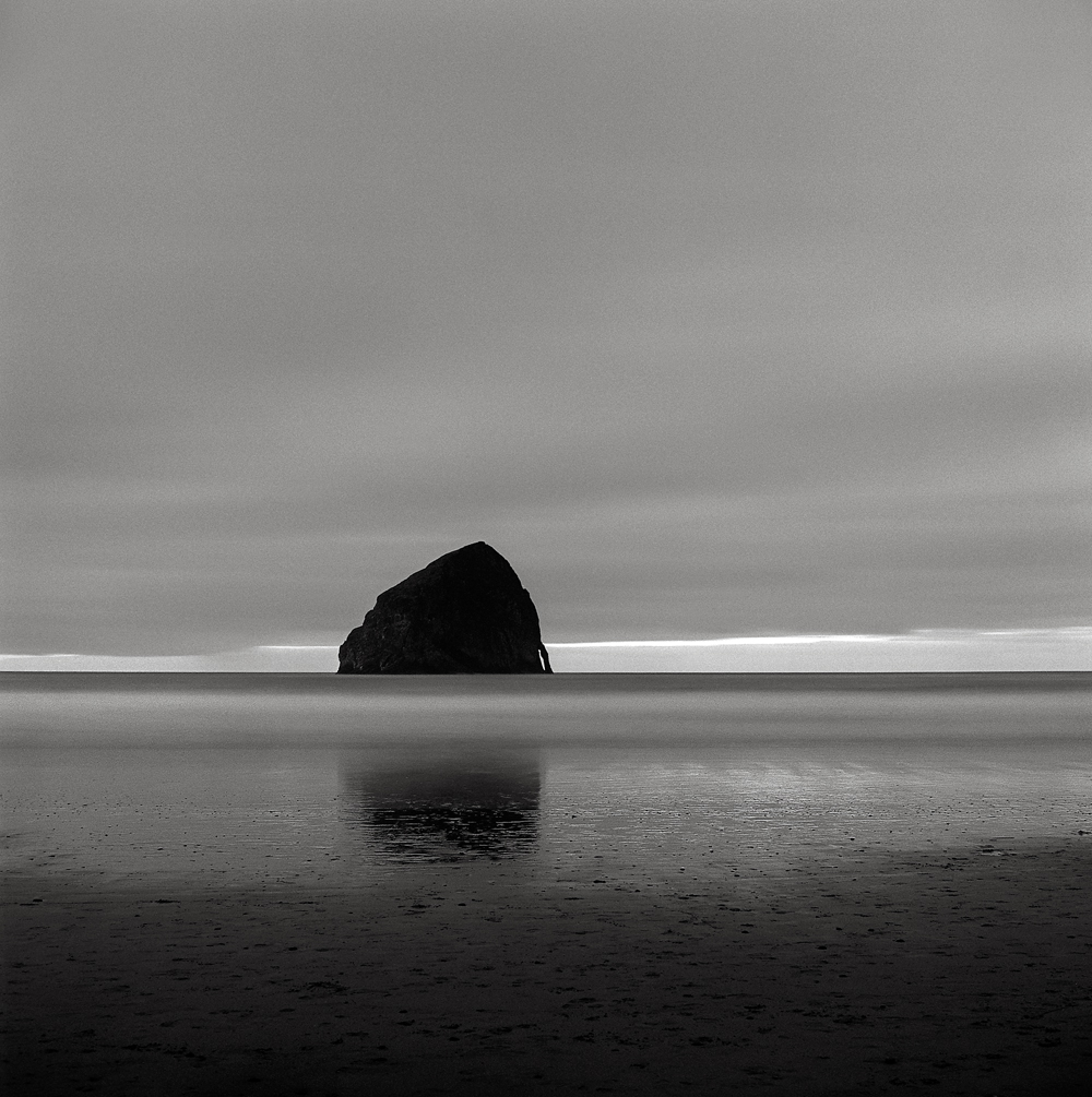 Last Light, Haystack Rock, Oregon Coast