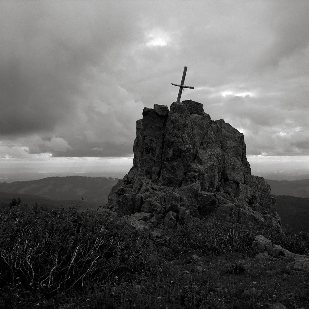 Cross, Silver Star Mountain, Washington