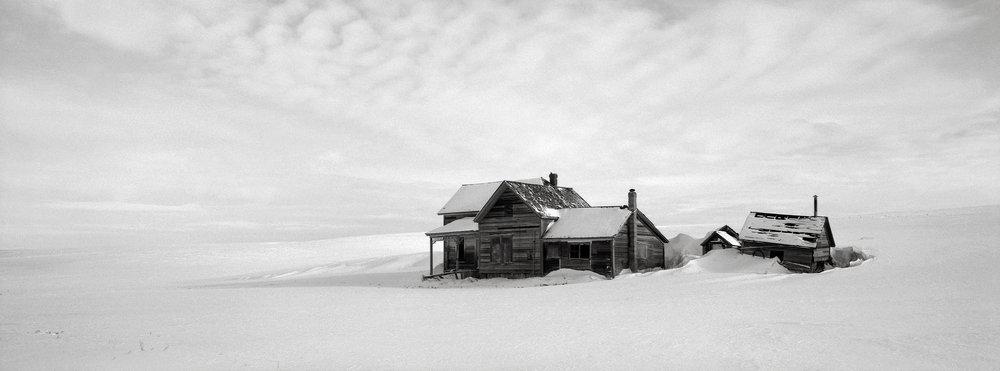 Abandoned Farmhouse, Washington