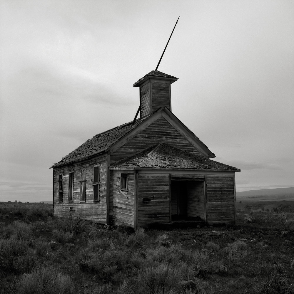 Abandoned Schoolhouse, Washington