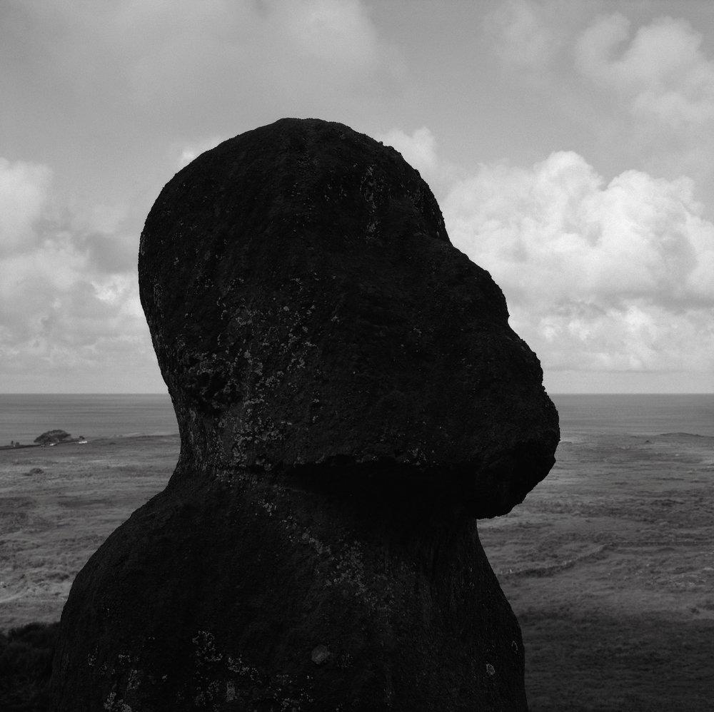 Moai Tukuturi, Easter Island
